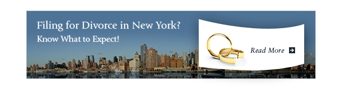 Filing for Divorce in New York?  Know What to Expect!